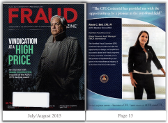 Fraud Magazine - July-Aug 2015