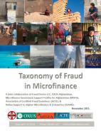 Taxonomy of Fraud in Microfinance